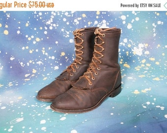 30% OFF JUSTIN  Roper Men's Boots Size 7 WIDE