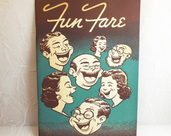 Fun Fare - Illustrated by Milt Youngren 1947 - Party Plans Games Menus Recipes from National Dairy Council