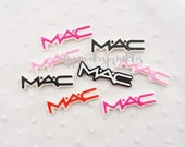 7pcs ((LAST)) MAC Kitschy Signature Decoden Cabochon (51x15mm) WS10012