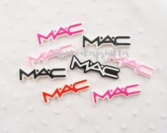 5pcs - MAC Kitschy Signature Decoden Cabochon (51x15mm) WS10012