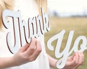 Rustic Chic Thank You Sign Rustic Elegance Gold Glitter Thank You Signs Wedding Thank You Photoprop Sign #DownInTheBoondocks