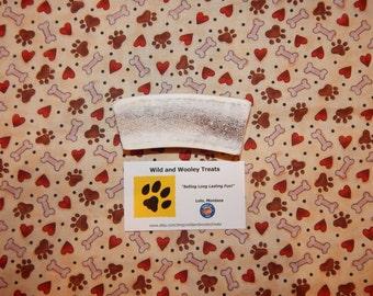 "Organic Medium Elk Antler Dog Chew Split ""Made in Montana"" (Lot C27)"