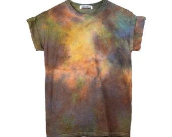 Burning Man Tie Dye T-Shirt < UNISEX SIZE > Psychedelic Festival Shirt, Grateful Dead Shirt, Burning Man Tie Dye Shirt, boho festival shirt