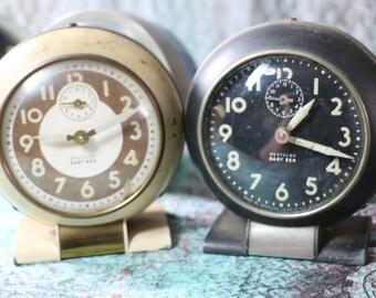 1 Vintage Working Westclox Baby Ben Alarm Clock