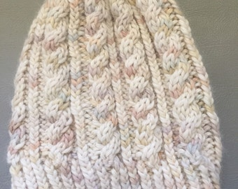 Comfy cable beanie