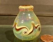 Tiny Hand Blown Dandelion Vases