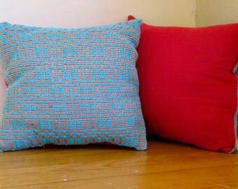 Funky Turquoise Pillows, Set of 4