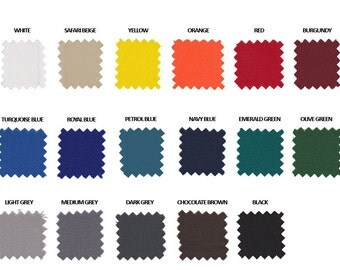 Available Canvas colors, Fabric Sample, Colour Customization, Macro Pictures, Fabric Description, Color Upgrade, High Quality