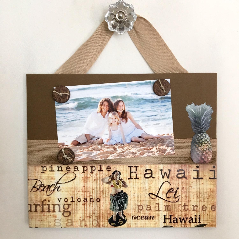 Gift Home Decor Photo 5 7 9 11 Family Hawaii Vintage Beach Wedding ...