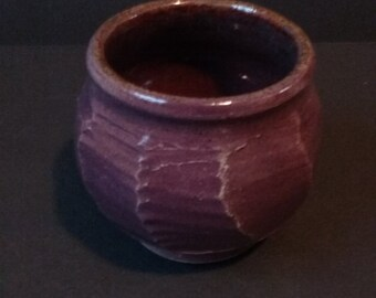 Unique Purple ceramic cup