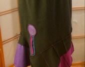 Sassy Lassy! Funky Skirt. Size large