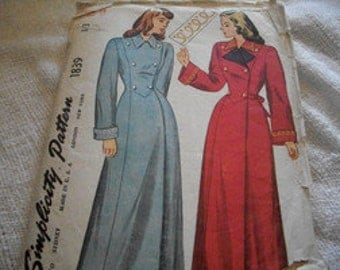 Woman's Coat Pattern