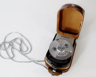 Argus Vintage Light Meter with Case