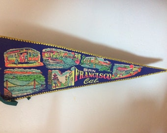 50's San Fransisco Pennant