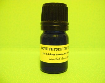 Essential Oil - Love Thyself Essential Oil Blend, Opening, Relaxing, Mindful - Positive Energy, Citrus, Resin & Floral Blend, Diffuse, 5 ml.