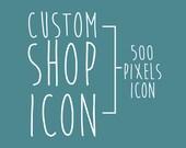 New Etsy Shop Icon New Layout Custom Personalized