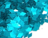 Teal SOLVENT RESISTANT Glitter DIAMONDS - 1 Fl. Ounce for Glitter Nail Art, Glitter Nail Polish and Glitter Crafts