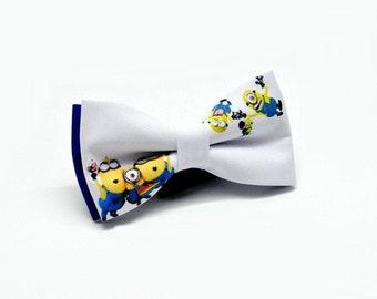 Minions Bowtie , Bowtie for boys , Minions print Bow Tie