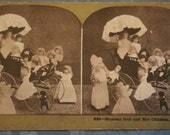 Stereoscope Stereograph Card Metropolitan Series