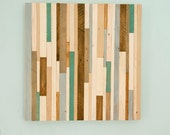 "Rustic wood Wall Art, reclaimed wood decor 20"" x 20"" reclaimed wood wall sculpture,"
