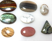 Mix Cabochon Gemston  Mix Lot 8Pc  AAA Quality Wholesale Price