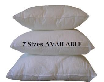 Outdoor Pillow Form - 20x20 Outdoor Pillow Insert - Pillow Insert - Polyester Pillow Insert - Polyester Pillow Insert - Outdoor Inserts