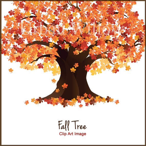 Tree Clip Art Fall Trees Autumn Tree Clipart Maple Tree