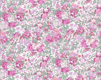 """Liberty Tana Lawn CLAIRE AUDE - Limited Edition - pink - 17"""" wide x 13"""" (43cm x 33cm)"""