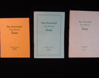 Vintage 1946-47   1947-48   1948-49  Roy Hennessey's Prize Winning Roses