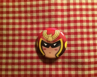Captain Falcon (F-Zero) Button