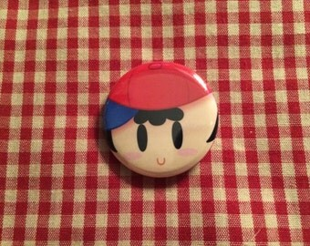 Ness (Earthbound/Mother) Button