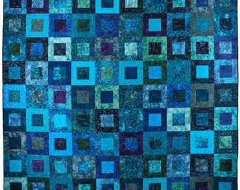 DEEP SEA DREAMS Bed Quilt