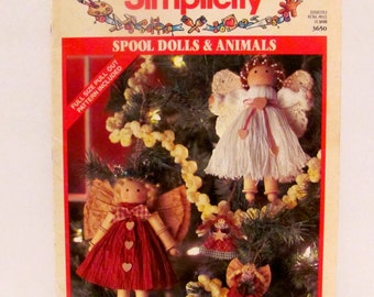 Simplicity Spool Dolls and Animals Book