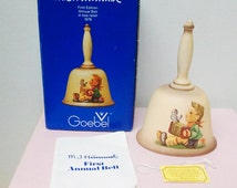 M. I. Hummel First Edition Annual Porcelain Bell 1978 Let's Sing