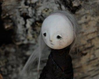 OOAK Art Doll- Poison Garden- Monkshood