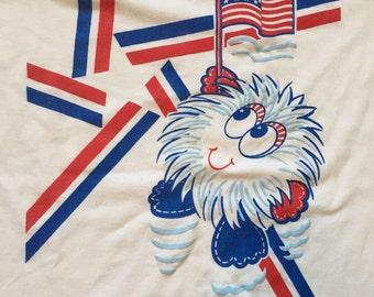 Vintage USA Puffball Mascot T-Shirt