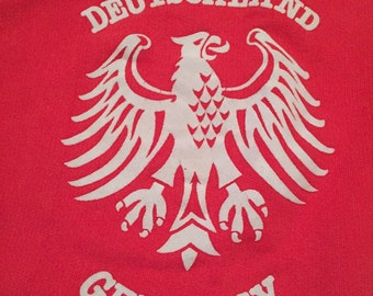 Vintage Germany Deutschland Crew Neck Sweatshirt