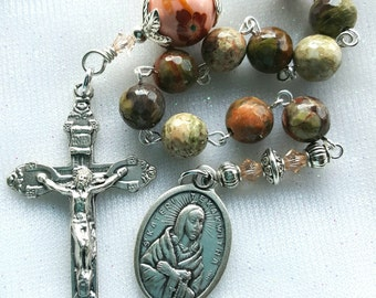 St. Kateri Tekakwitha Rosary - Blessed Kateri Catholic Rosary