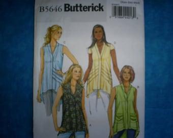 Butterick 5646 Misses Size 4-6, 8-10,12-14