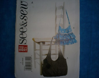 See & Sew Easy Bag Purse..