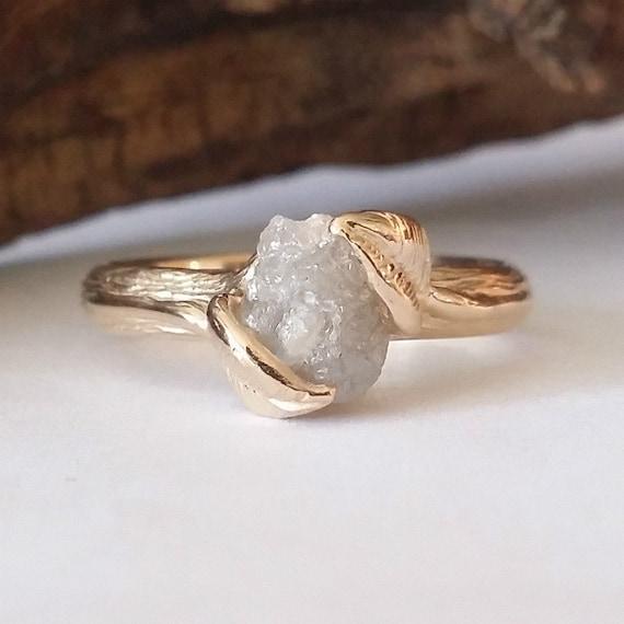 Uncut diamond ring branch