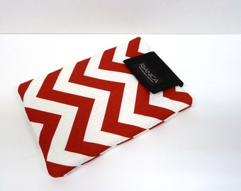 Red Chevron Ipad Mini or E-reader Cover