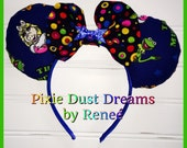 The Muppets with Miss. Piggy & Kermit handmade Mouse Ears!!
