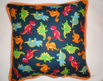 SALE Dinosaurs Pillow