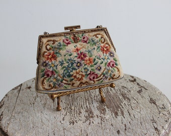 1930s Florencia Tapestry Purse
