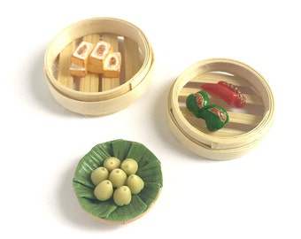 Miniature Asia Food