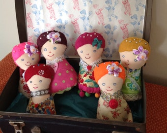 Pretty Doll Pin Cushion
