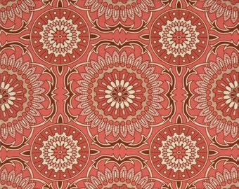 54015 - Joel Dewberry Bungalow collection PWJD075 Doily in Coral color - 1 yard