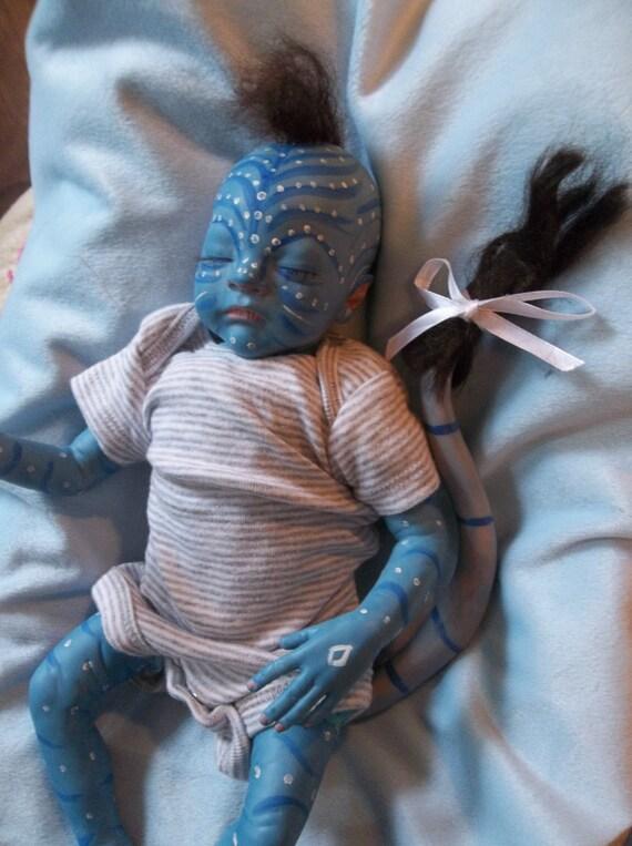 Reborn Custom Made To Order Sleeping Baby By Lunatoonyweeones