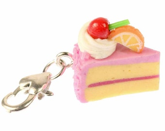 [BUNDLE] Piece of cake cake cake charm pendant Strawberry r